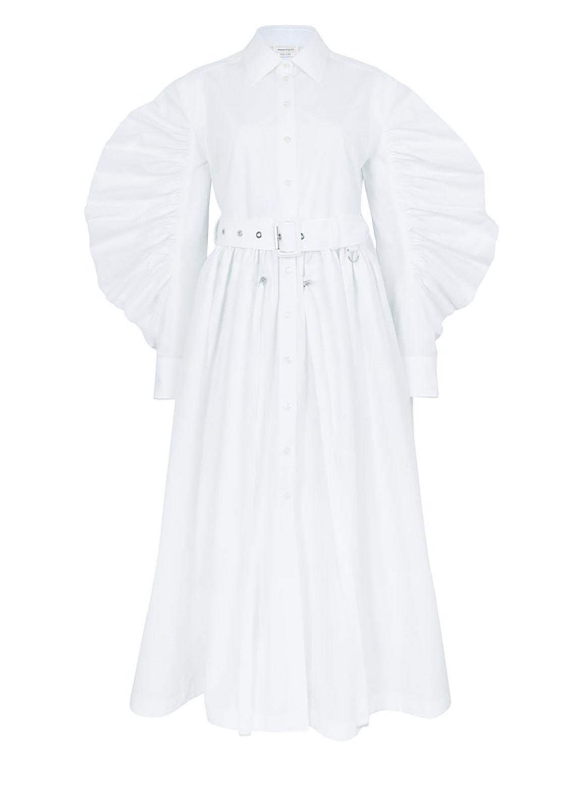 Parka shirt dress