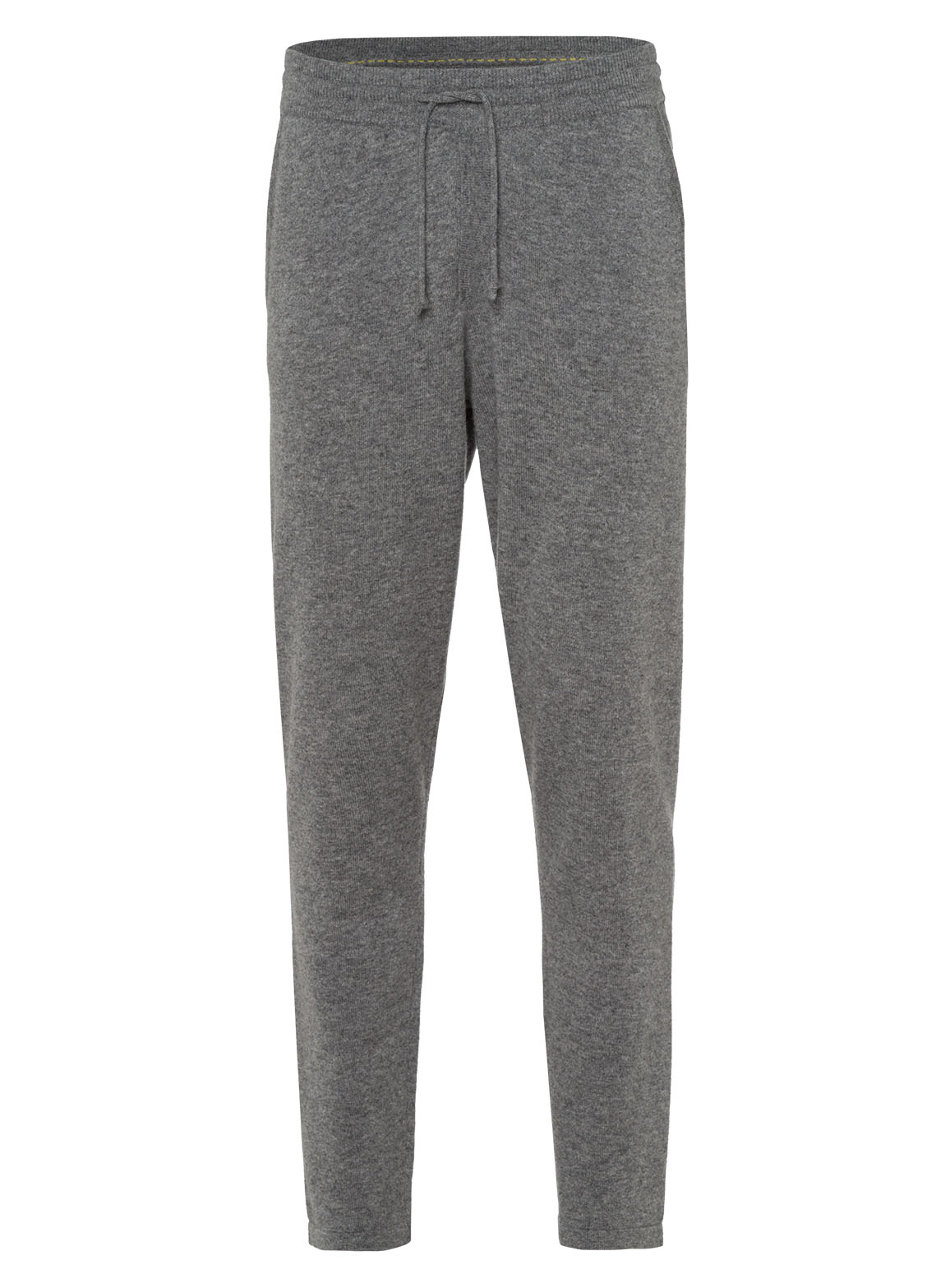 Trousers with straight cuffs