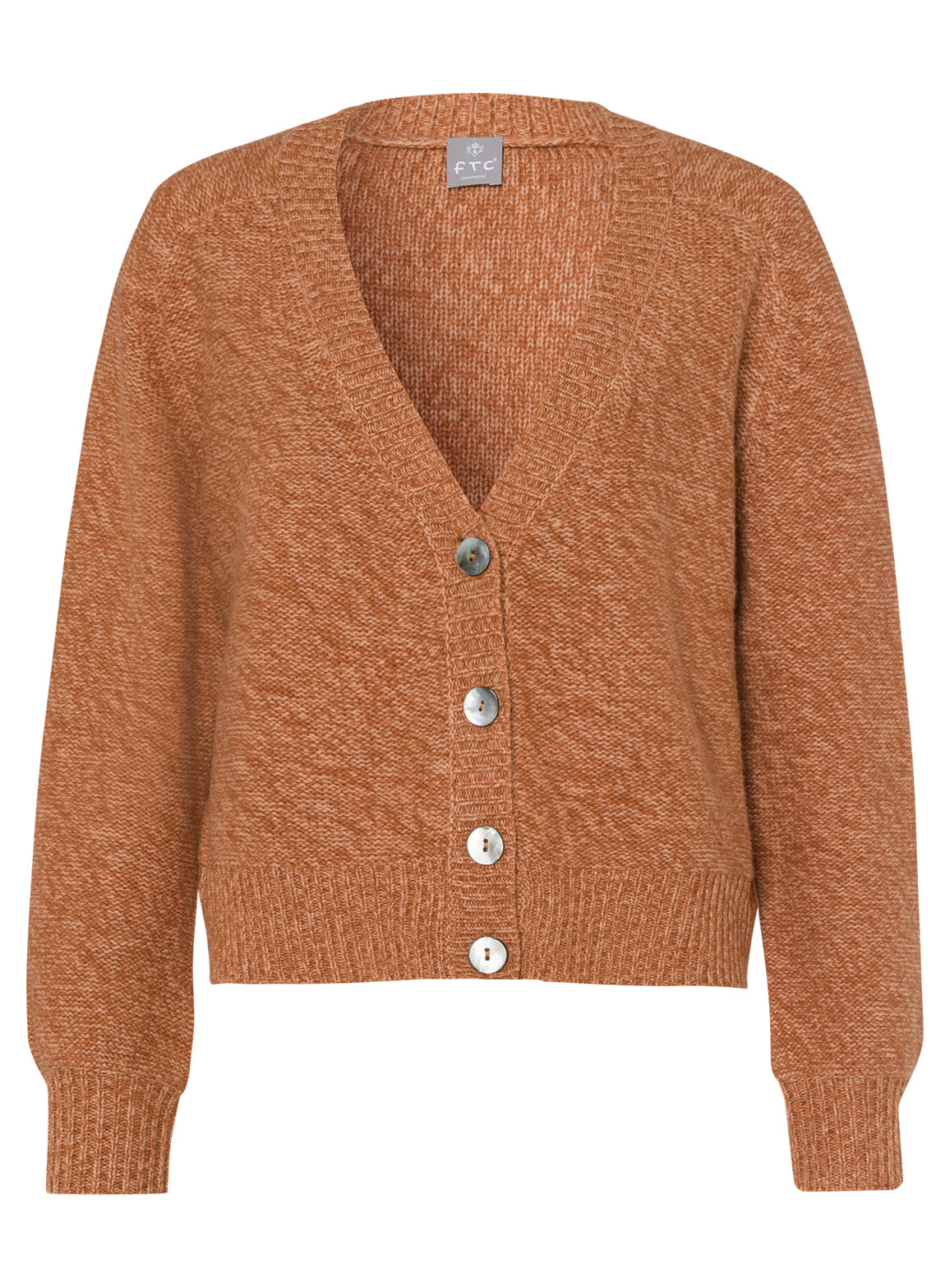 Wide fitting Cardigan with two-toned effect