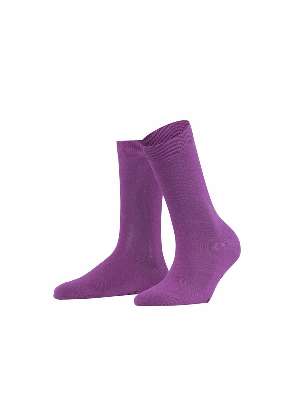 Galaxy purple family women socks
