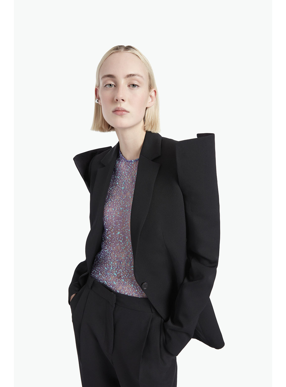 Exagerated Tailored Jacket