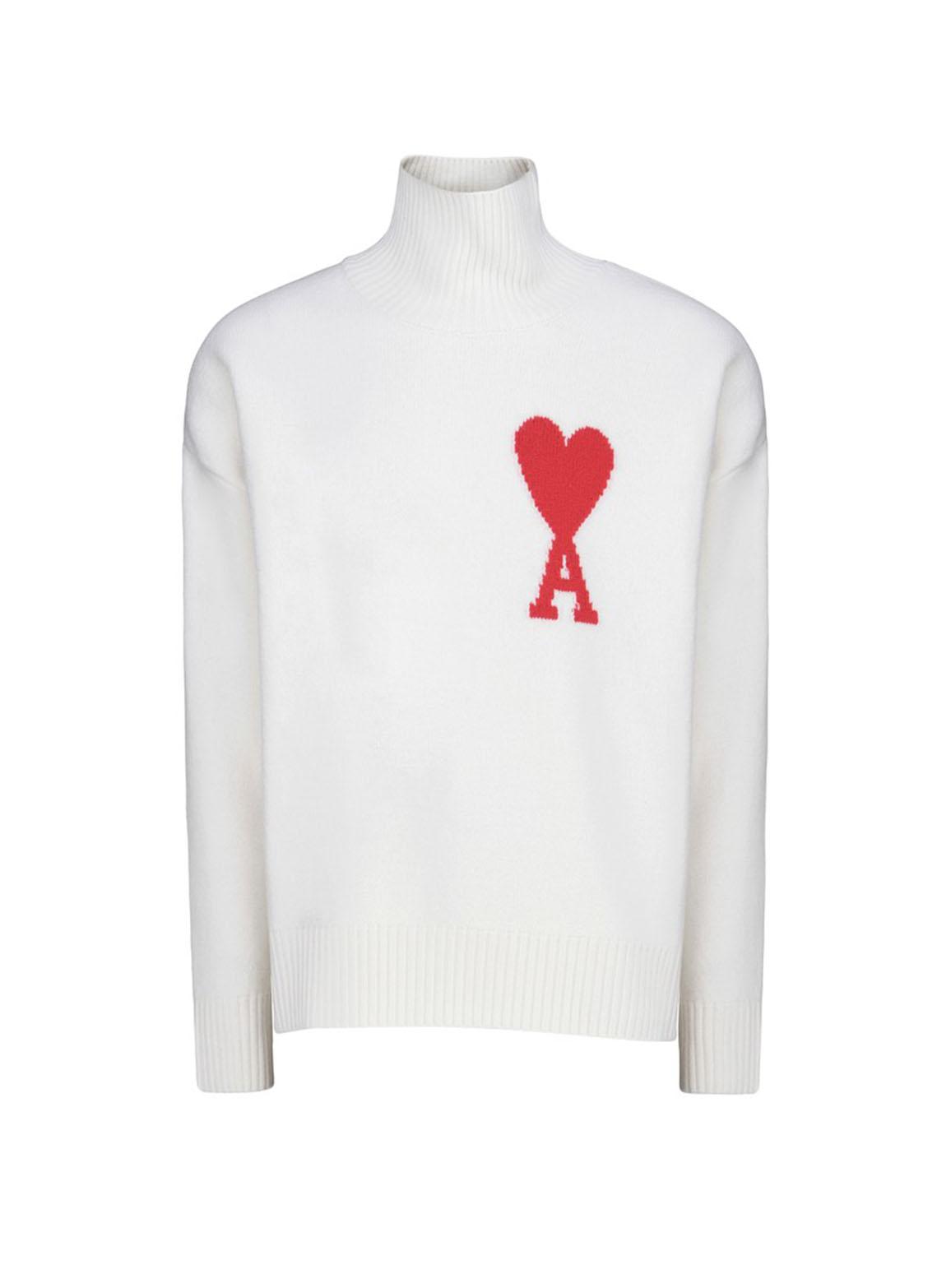 Ami de Coeur crew neck sweater
