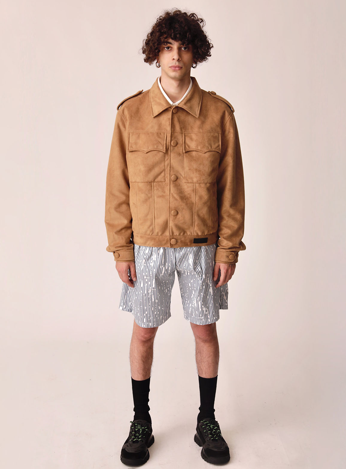 Camel Suede Jacket