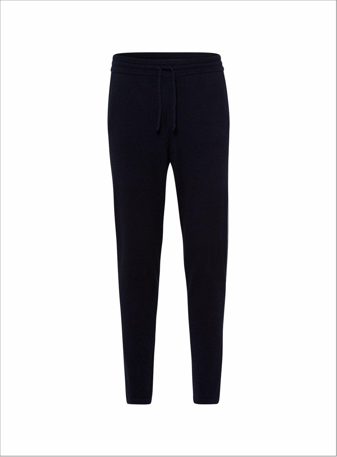 Straight cut trousers in puristic design