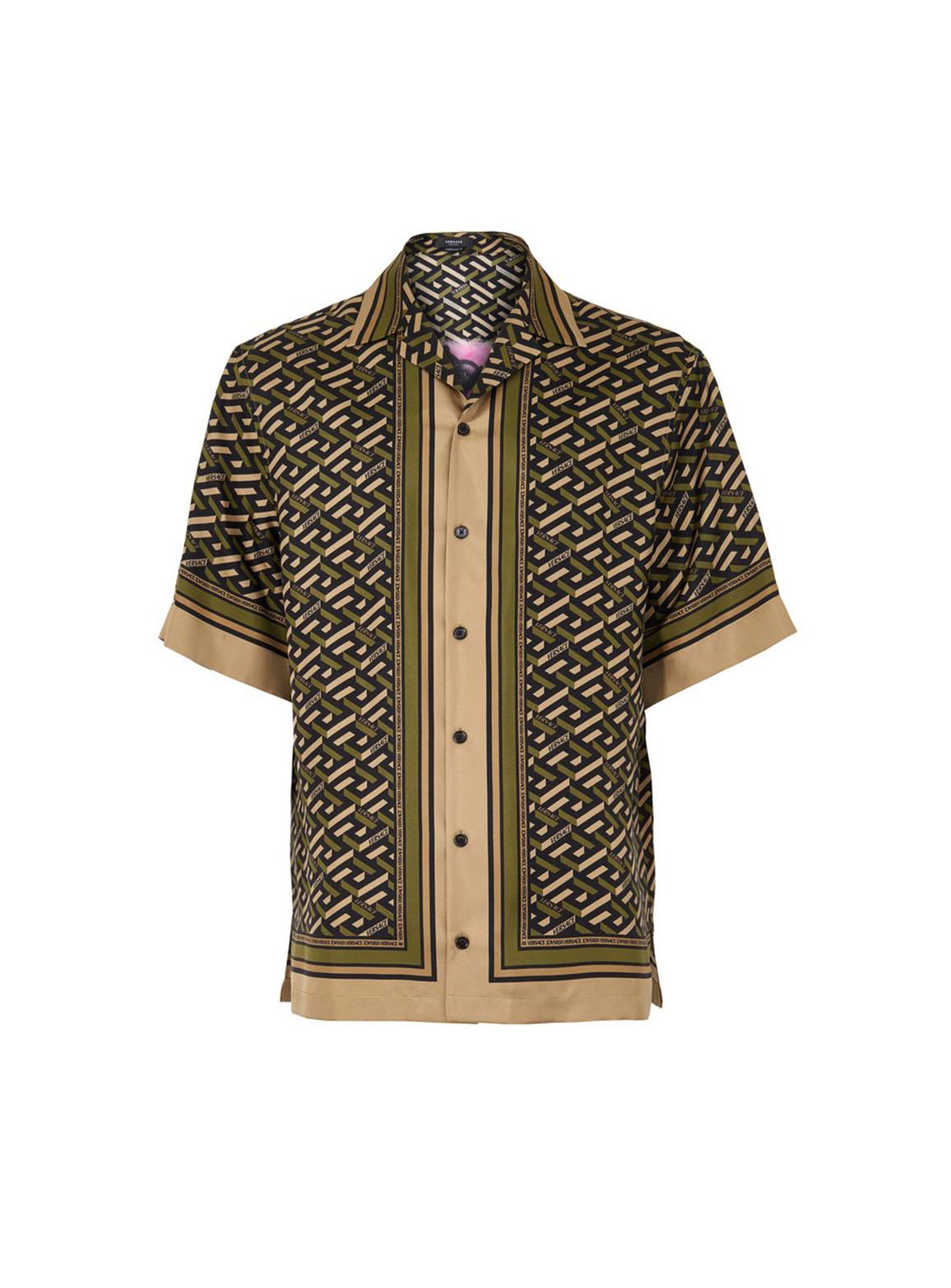 Monogram Foulard and Medusa Printed Shirt