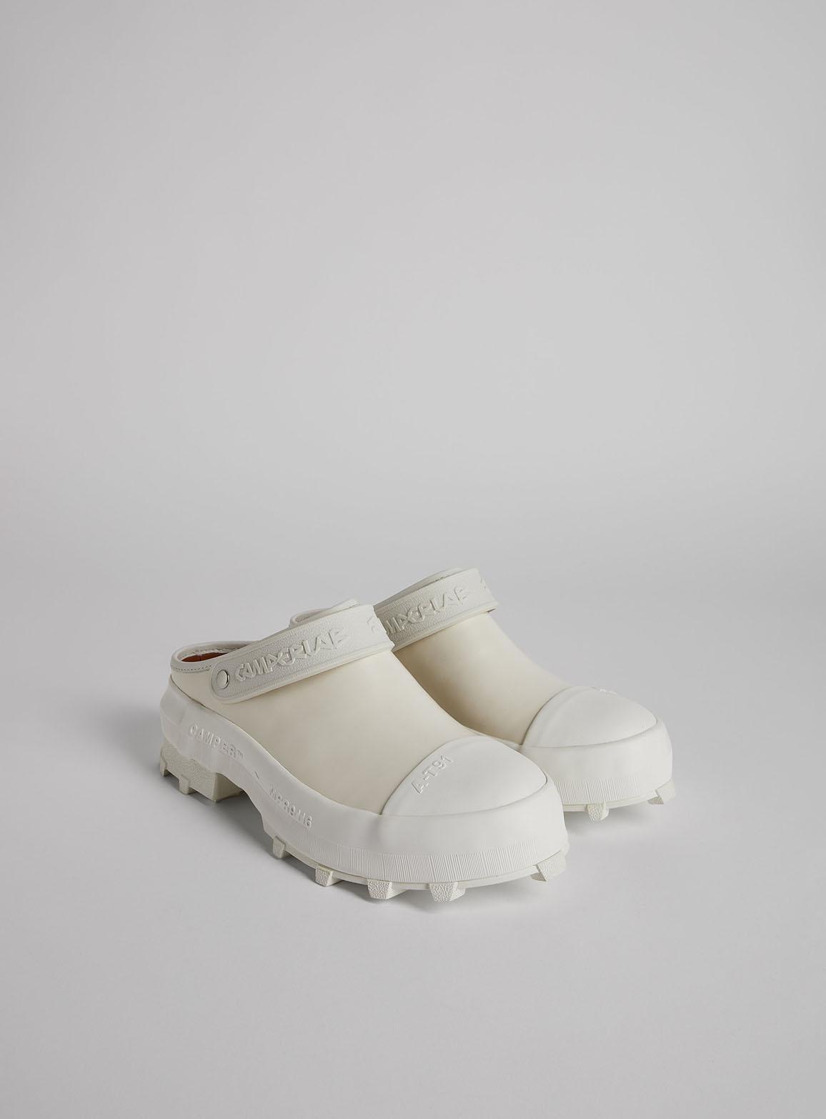 Traktori white shoes