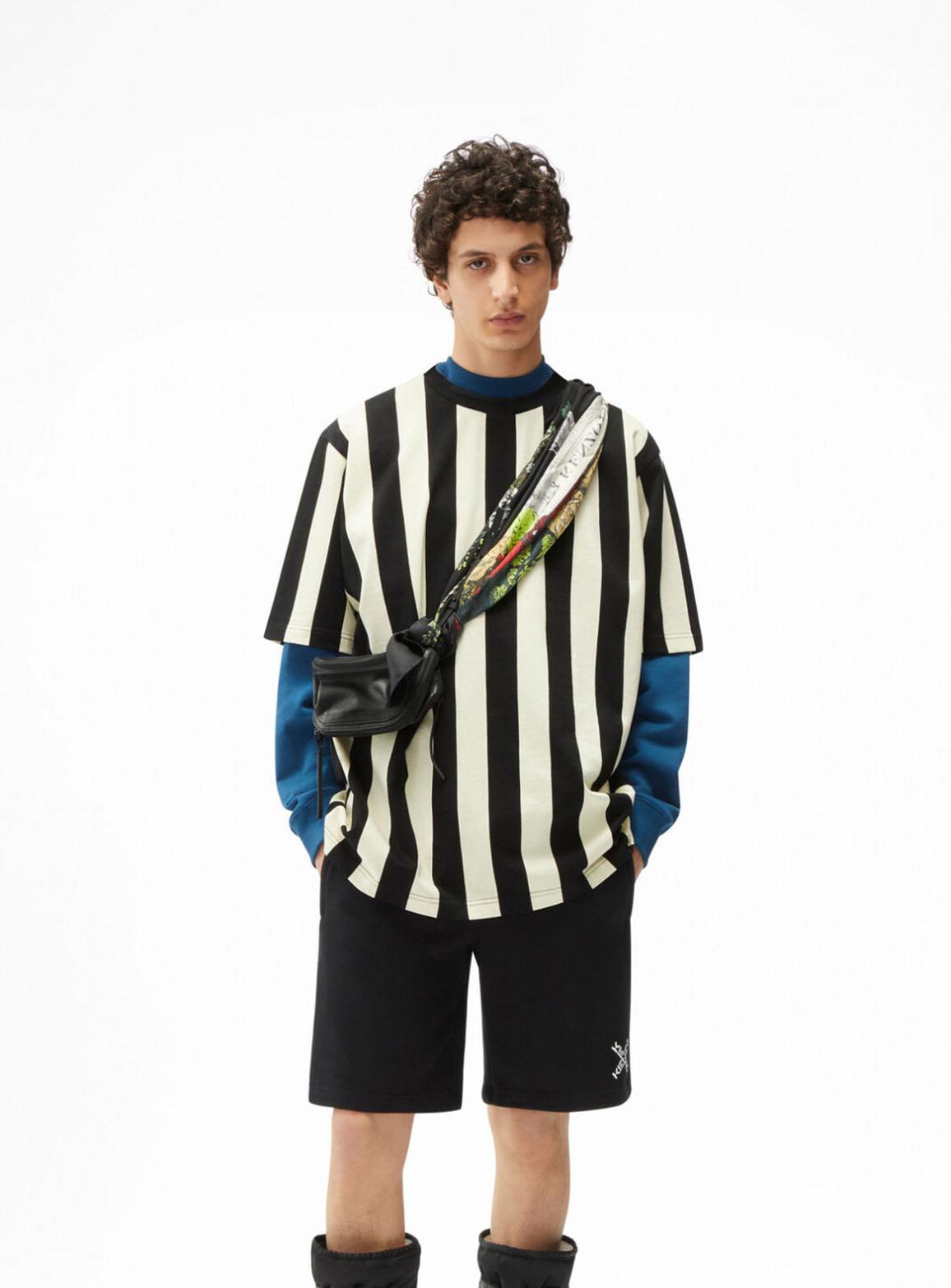 Longo unisex poncho t-shirt