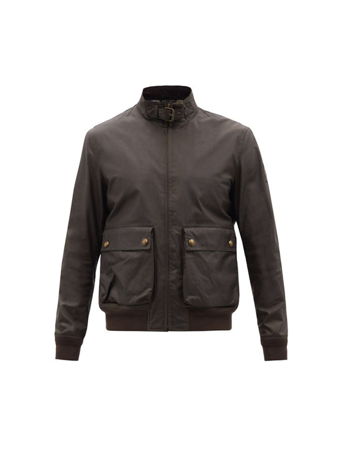 Scouter waxed cotton-canvas bomber jacket