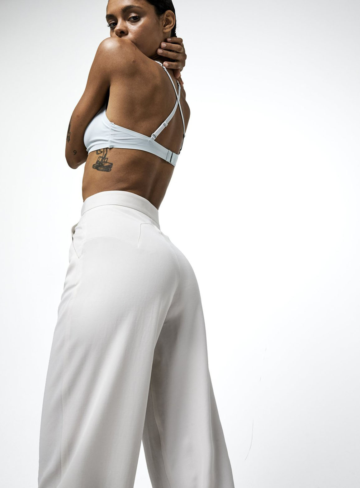 Marbella Ivoire trousers