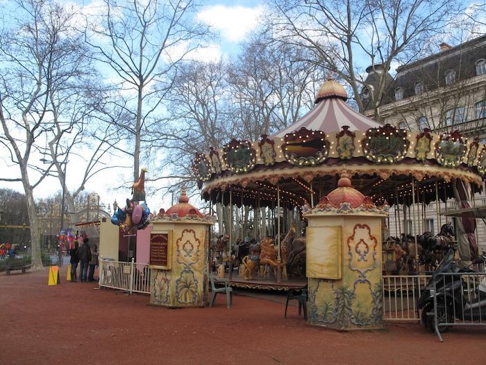 Manège au Parc de la tête d'or Lyon