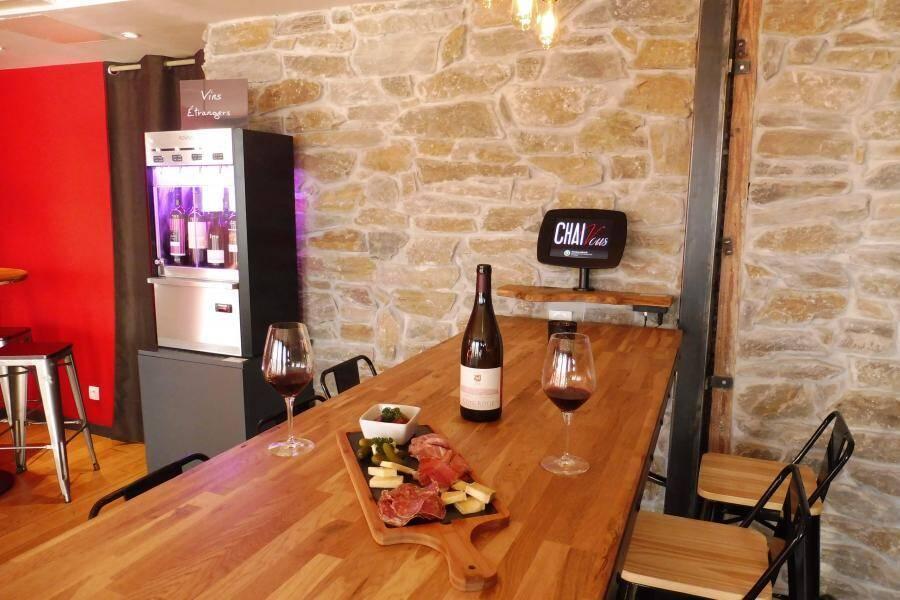 Chai Vous,  le nouveau bar à vin du 3ème !
