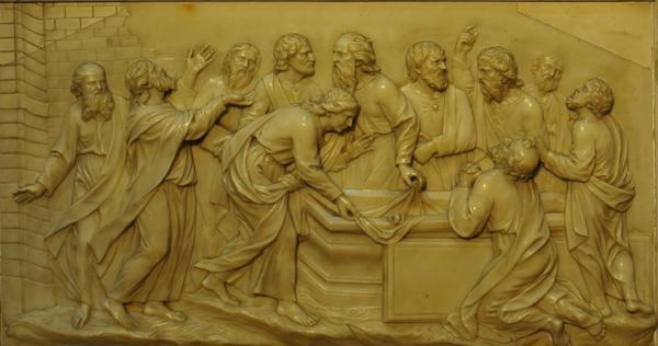 bas relief de Saint Nizier