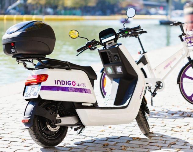 indigo weel scooter