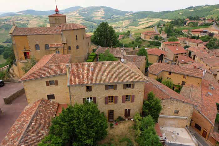 Oingt : Un des plus beaux villages de France