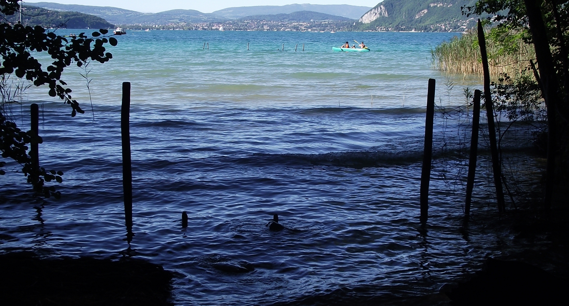 plages annecy