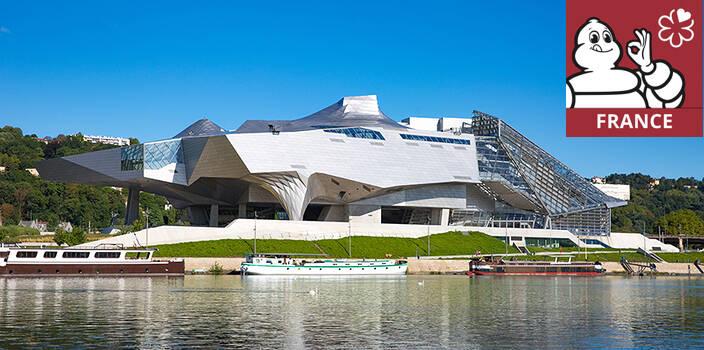 Le musée des Confluences : triple étoilé du Guide Vert Michelin