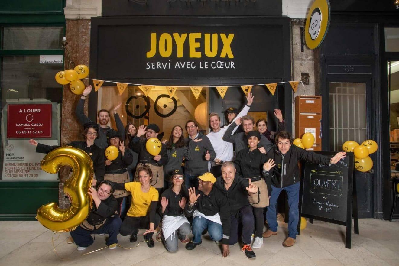 BONNE NOUVELLE : un Café Joyeux, coffee-house célèbre employant des personnes en situation de handicap, va ouvrir à Lyon !