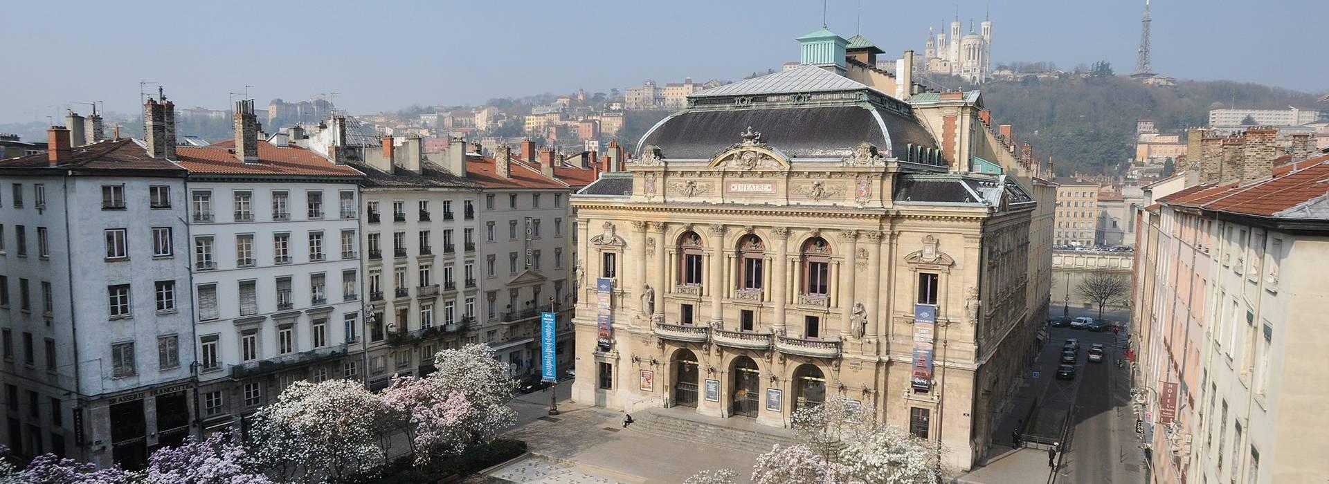 Histoire de Lyon : Le théâtre des Célestins