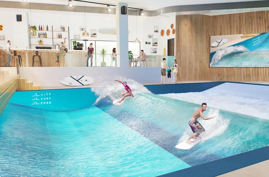 Les préventes pour surfer la plus grande vague Indoor de Lyon sont dispos !!