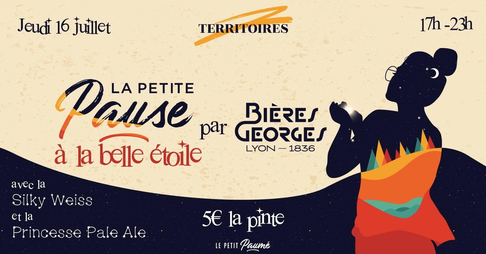 La Petite Pause x Bières Georges l La Petite Pause à la Belle Étoile