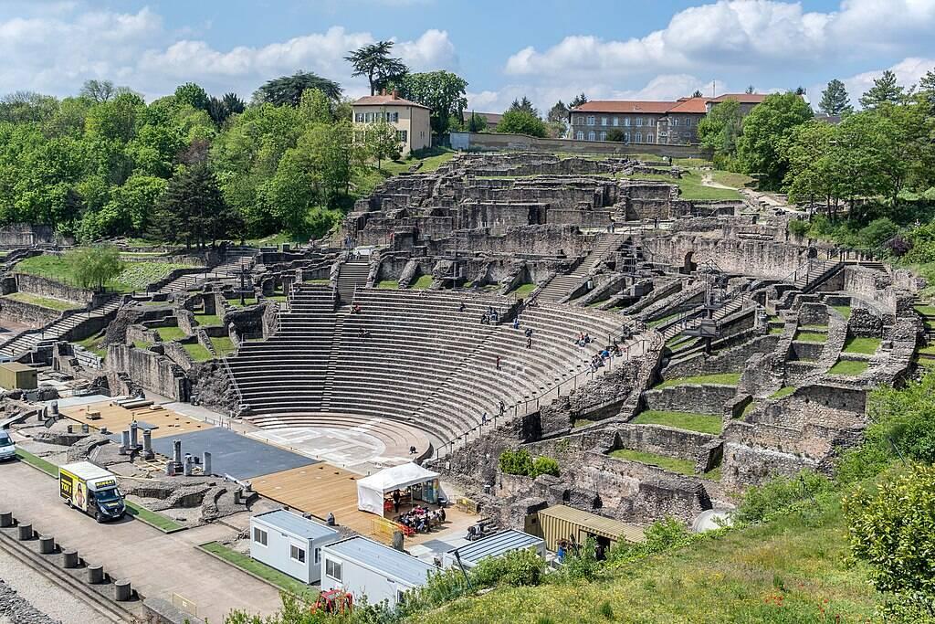 Histoire de Lyon - À la découverte du théâtre antique de Lyon