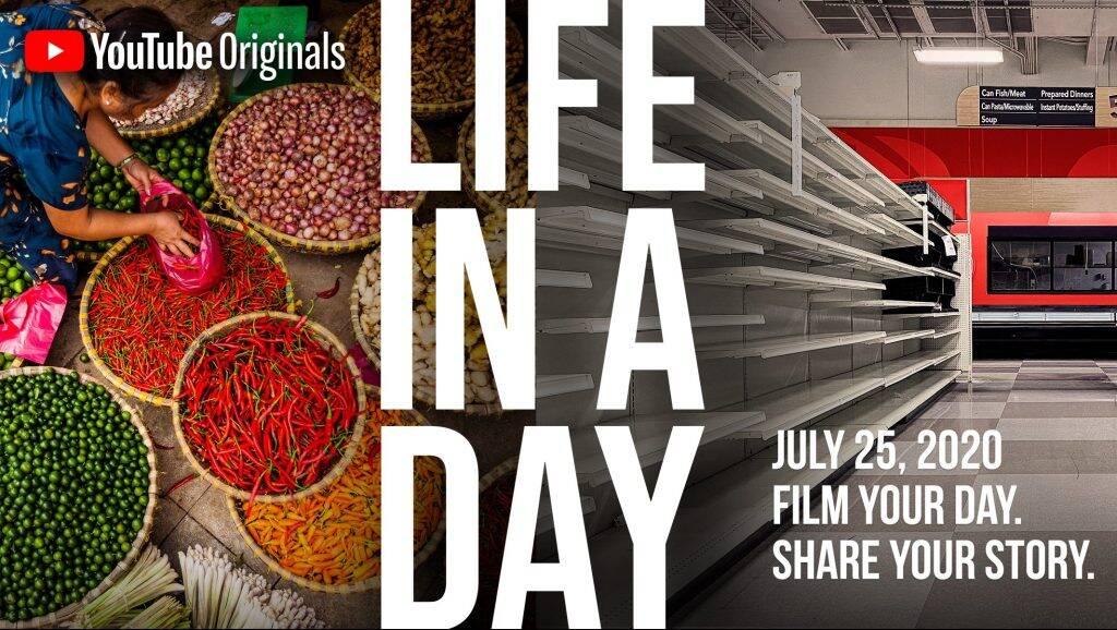 LIFE IN A DAY : Filme ta journée et participe à une collaboration cinématographique mondiale avec Ridley Scott et Kevin MacDonald