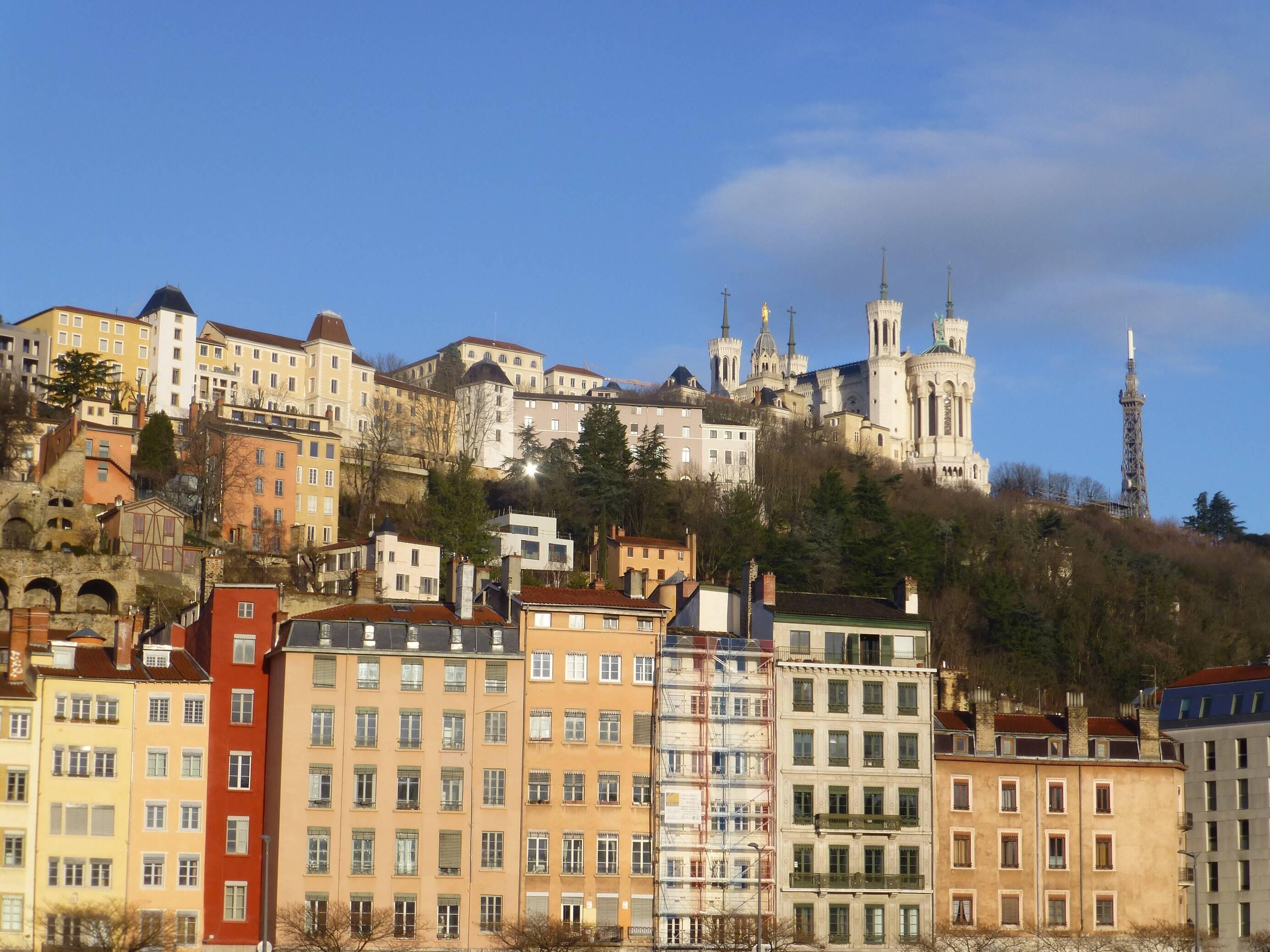 Histoire de Lyon : la basilique Notre Dame de Fourvière