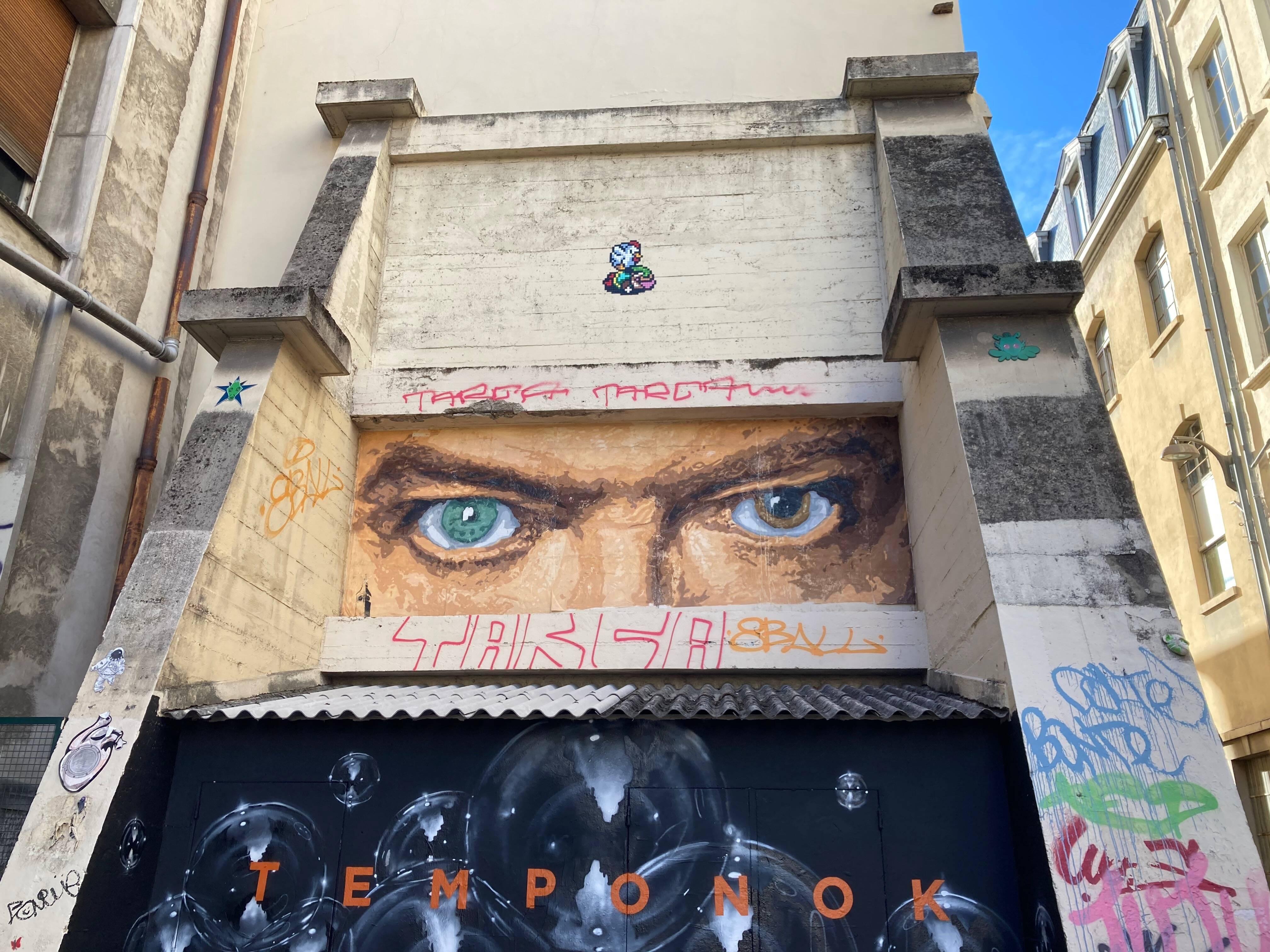 Street Art à Lyon : Les petites trouvailles du Petit Paumé