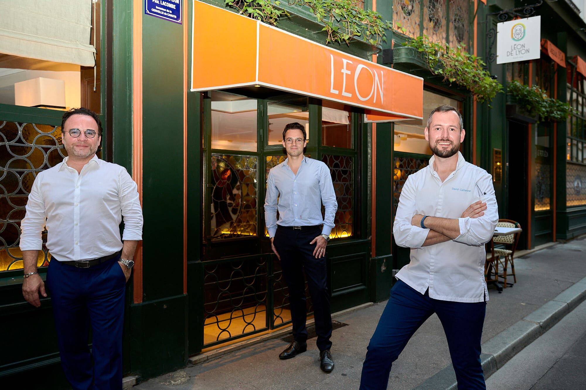 Le gagnant de Top Chef David Gallienne signe un menu chez Léon de Lyon, disponible jusqu'au 15 octobre !