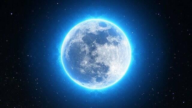 Observez une pleine lune bleue ce soir pour Halloween !
