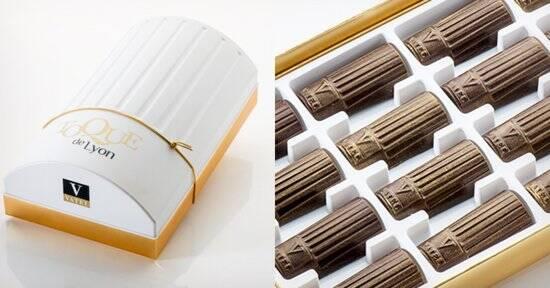 La Toque de Lyon : ce chocolat unique à la gloire de Lyon et de la gastronomie !