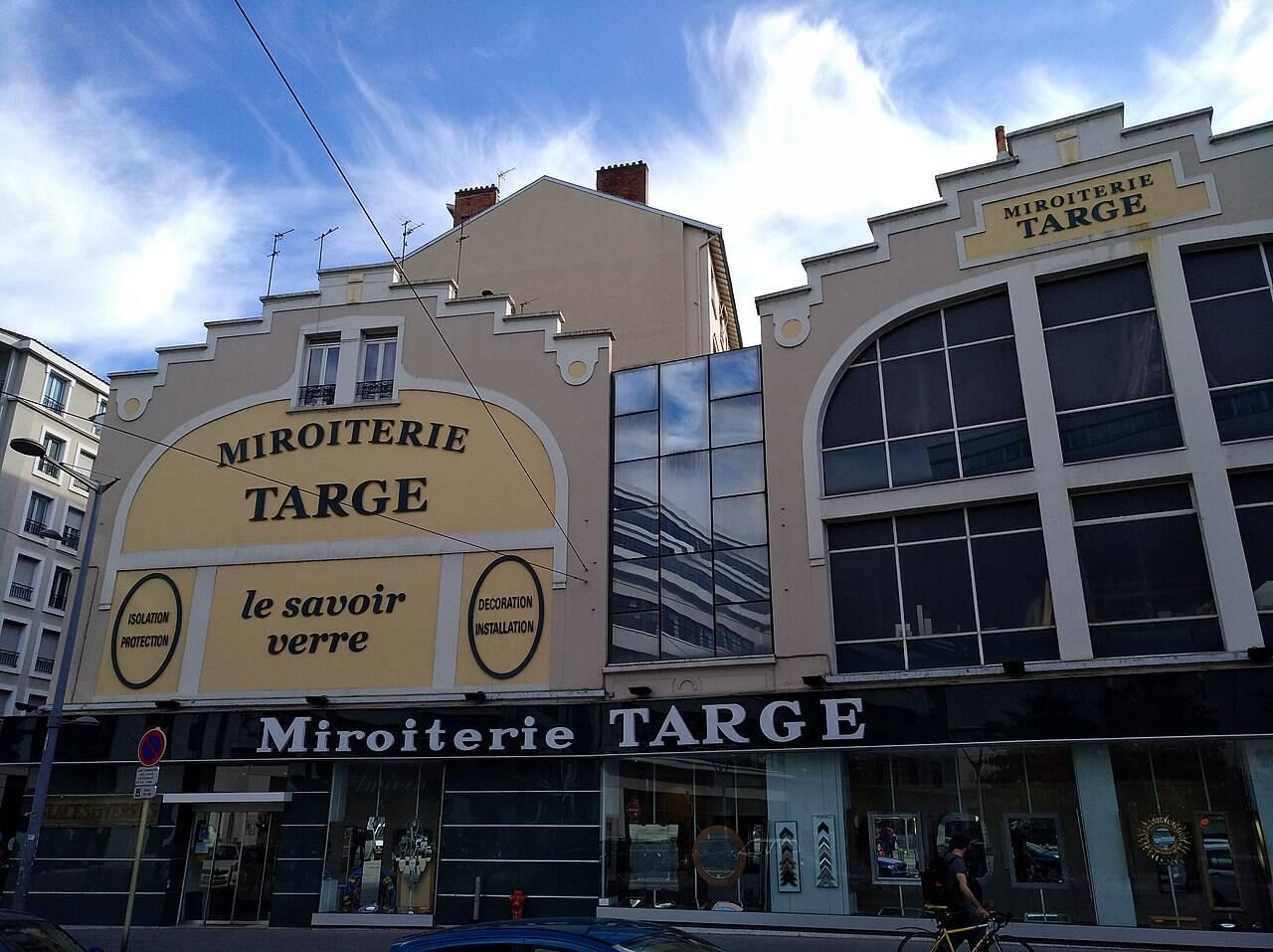Histoire de Lyon : découvrez la miroiterie Targe !