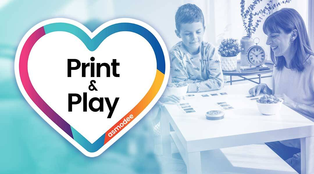 Print & Play : Asmodee rend gratuits certains de ses jeux pendant le confinement !