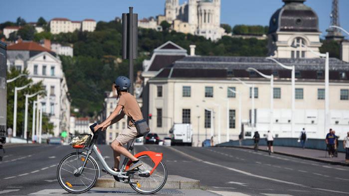 Une piste cyclable constituée de pins arrive à Lyon !