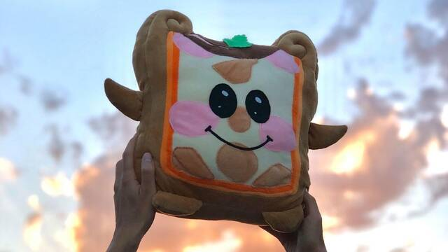 Achetez votre  peluche en forme de pâté en croûte !