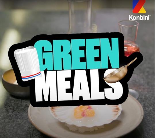 GREEN MEALS : La mini-série gourmande et écolo (Veolia x Konbini) !