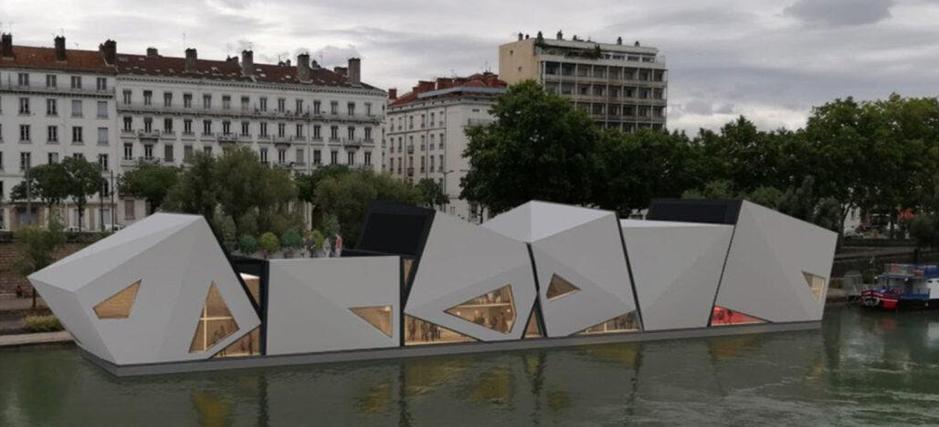 L'incroyable histoire du théâtre flottant de Lyon prévu en 2022