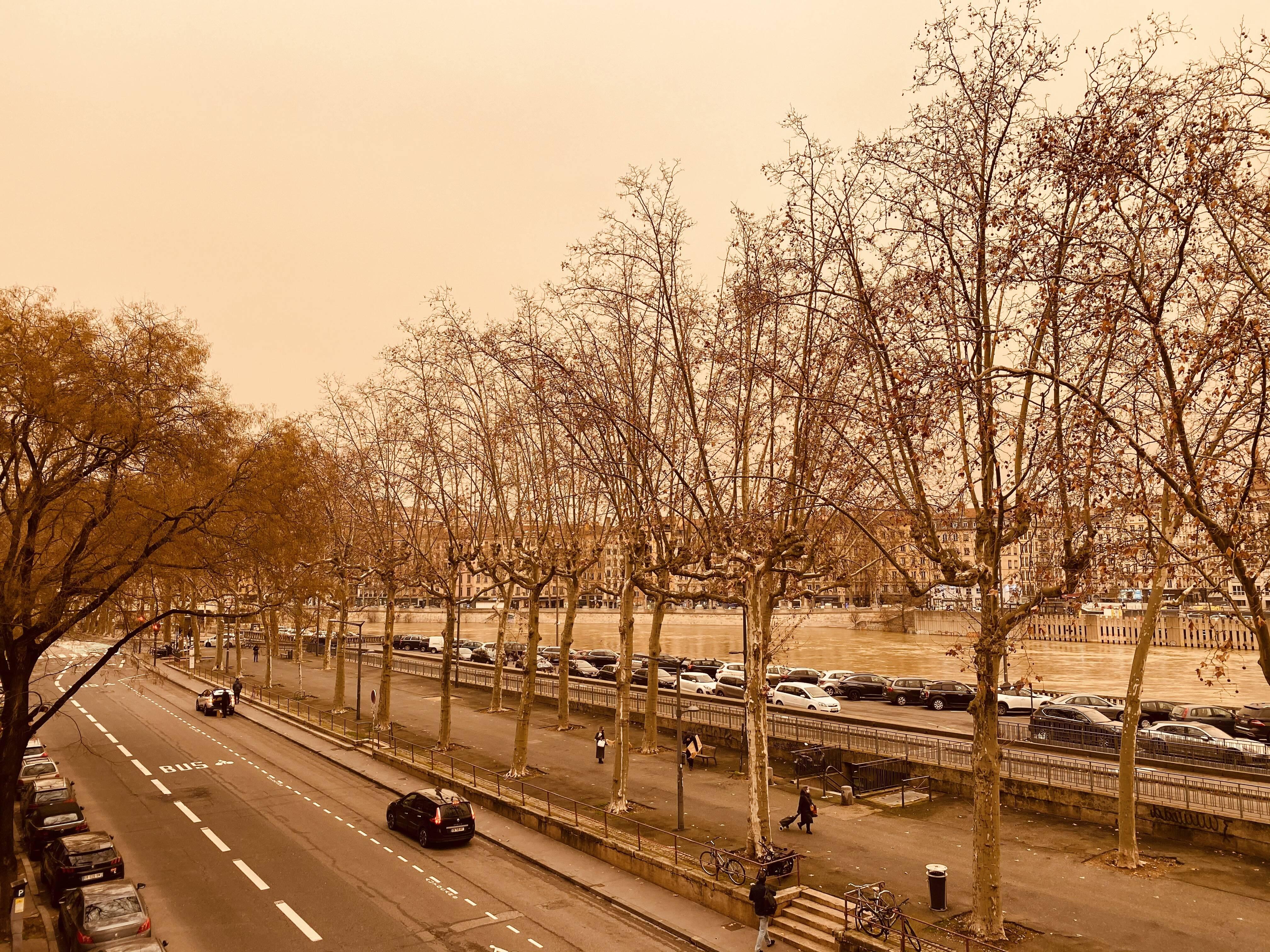 Le ciel sera ocre ce samedi à Lyon !