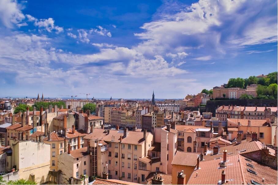 Lyon et ses merveilles : les pentes de la Croix-Rousse