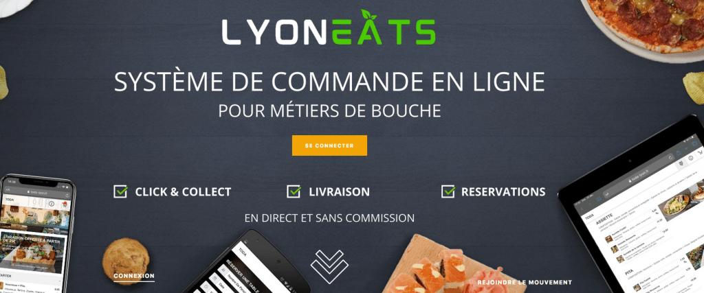 Lyon Eats : un système de commande en ligne avantageux pour les restaurateurs, les clients et les livreurs !