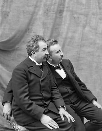 Les frères Lumière, figures emblématiques de Lyon !