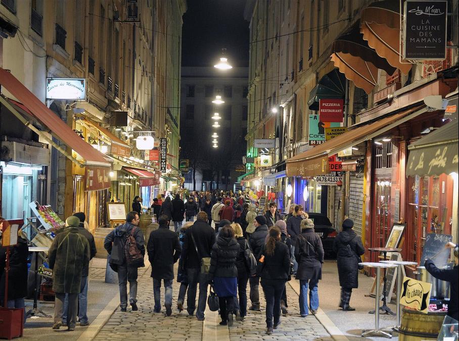 Lyon et ses Merveilles : la rue des Marronniers