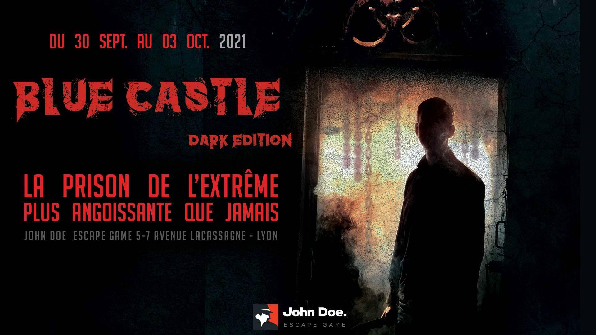 John Doe Escape Game : la mission Blue Castle revient en Dark Edition pendant 4 jours !