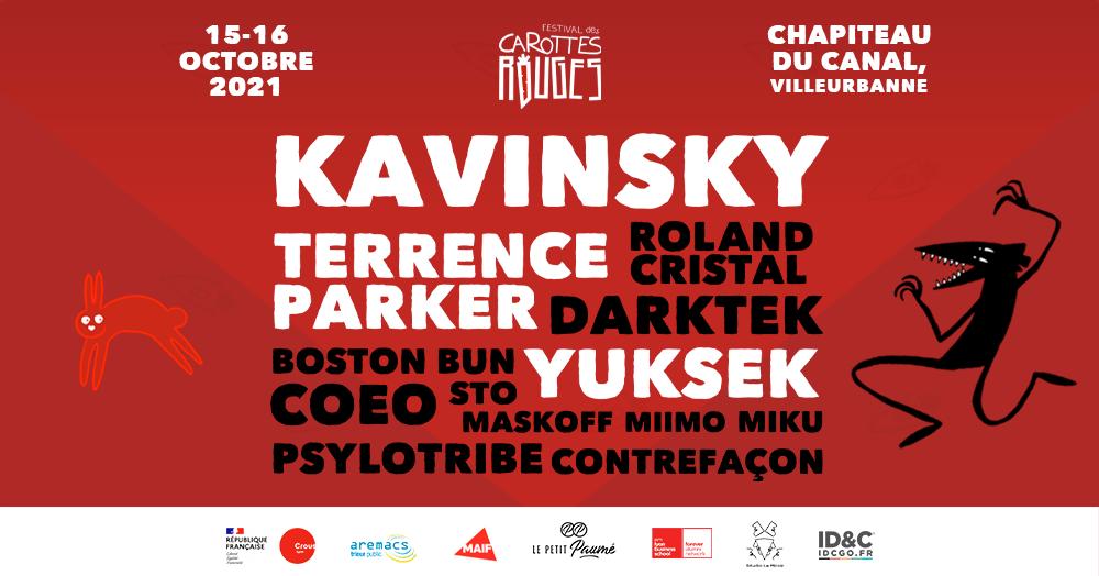 Kavinsky, Yuksek, Terrence Parker… Le Festival des Carottes Rouges arrive pour sa 1ère édition !