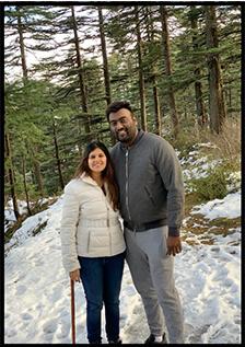 PaperVideo founder chirag arya and his wife nitya bagri
