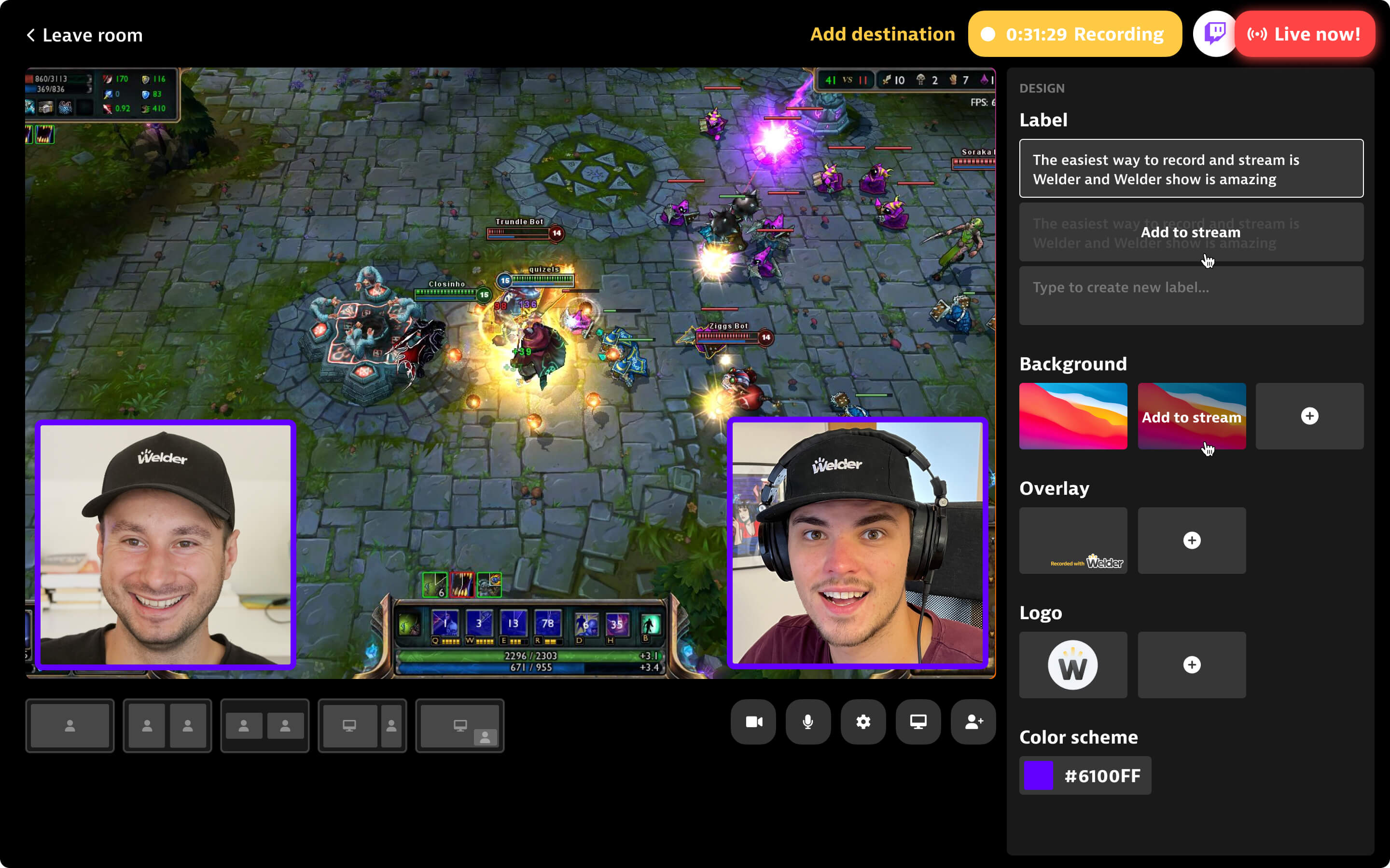 Twitch Live Streaming