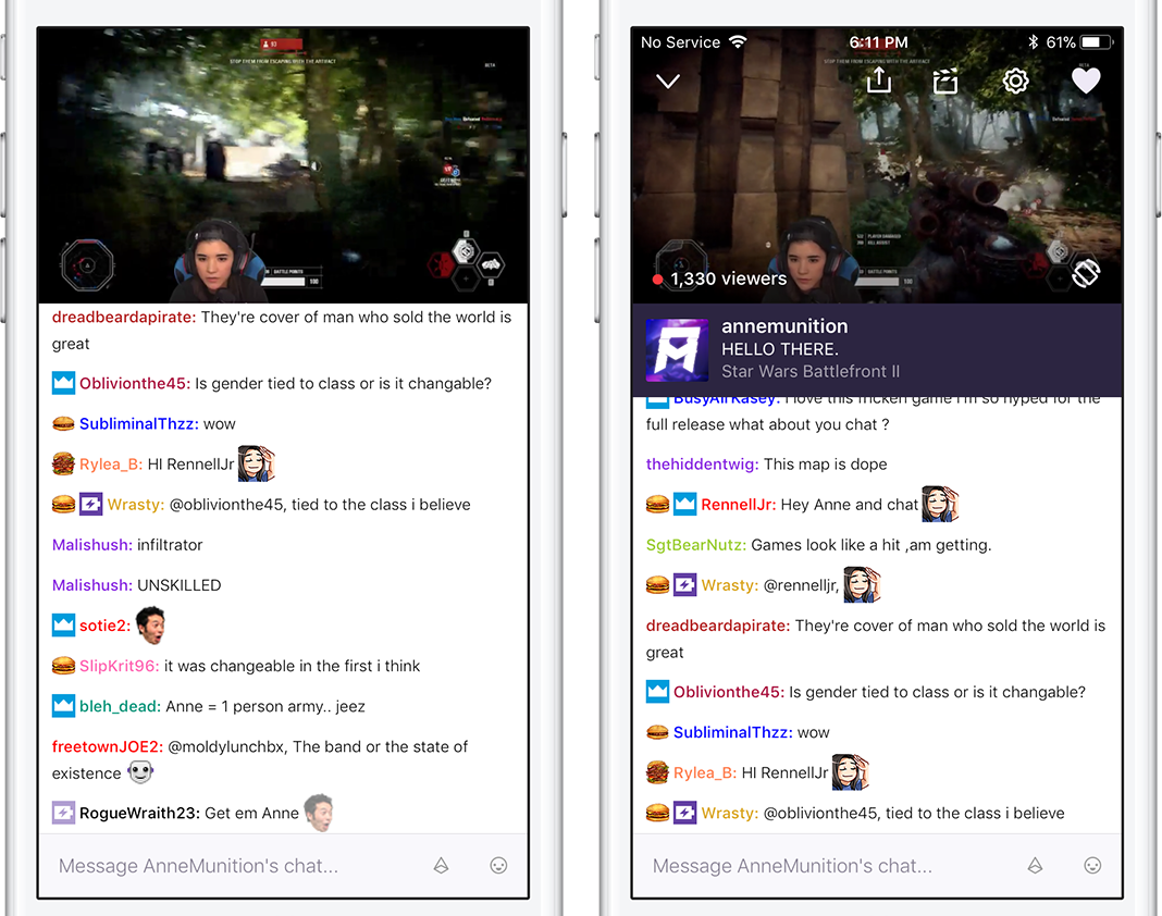 Twitch Mobile