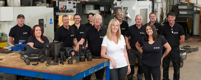 Deltec Industries Staff photo.
