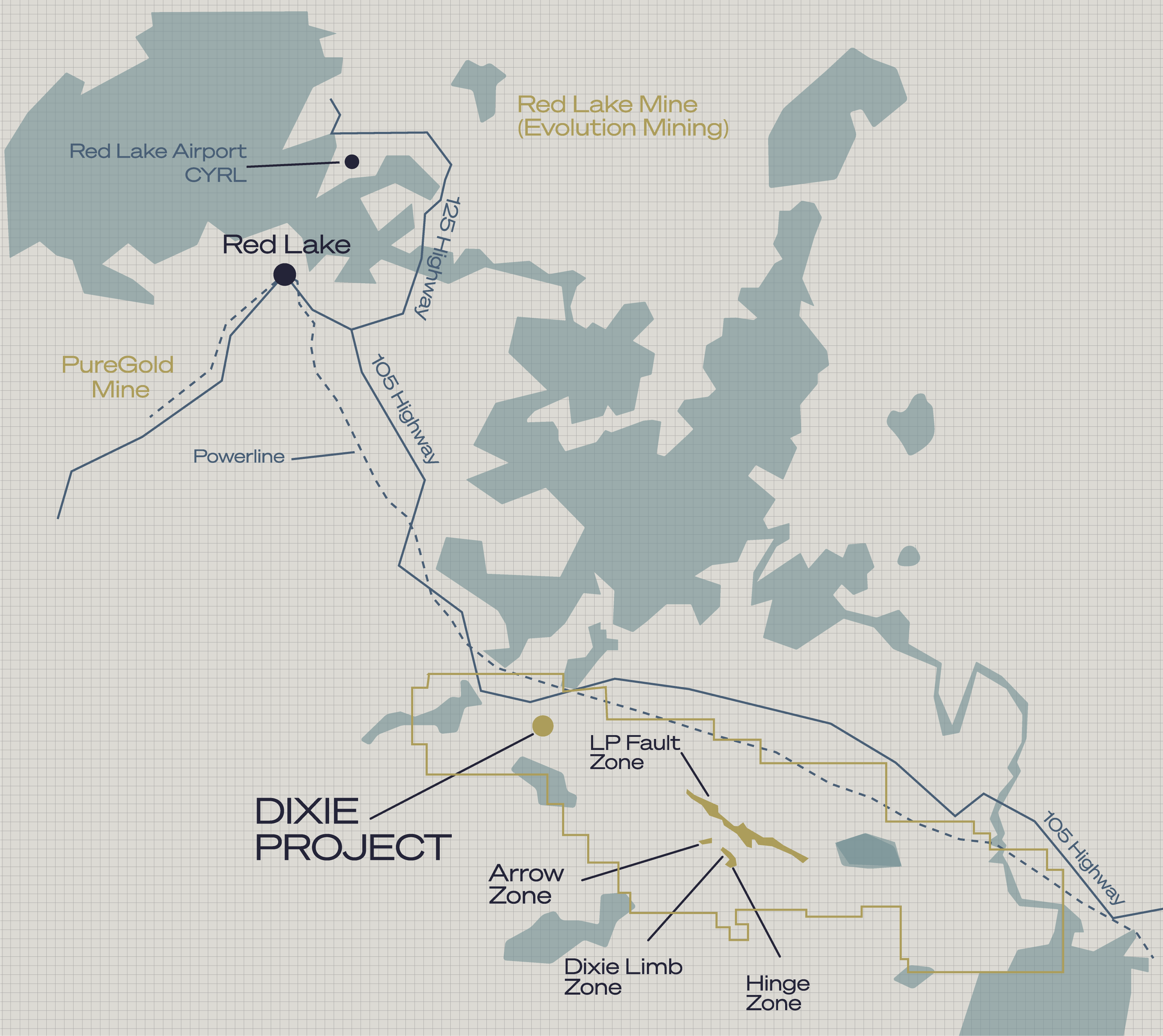 Dixie Project Map