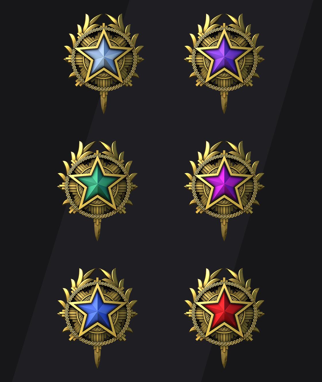 CSGO Service Medals